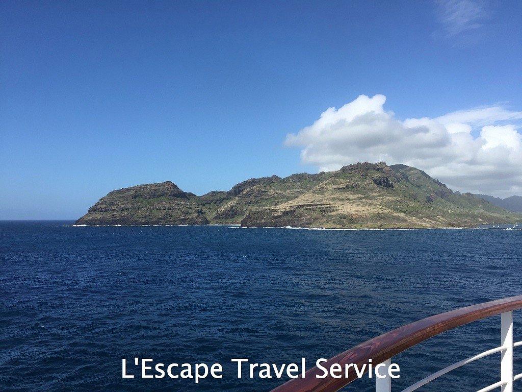 Hawaii from Sea