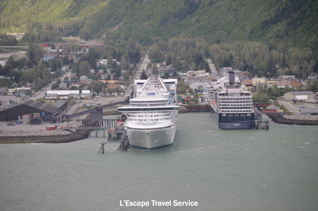 Cruise Ships in Skagway